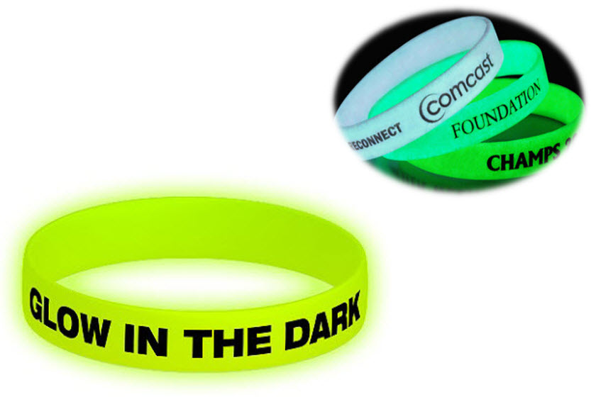 glow in the dark armbandjes bedrukken