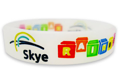 siliconen armbandjes full-colour