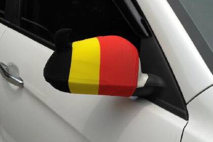 belgie auto spiegel hoes supporters hoes