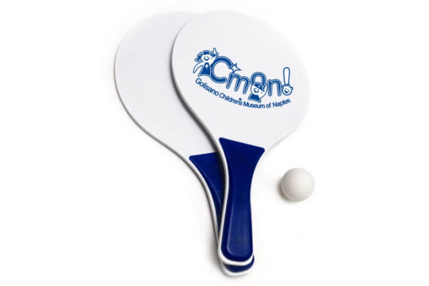 beach ball set met logo