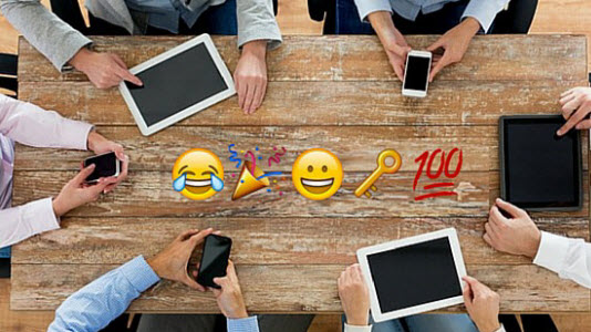 emoticons marketing communicatie