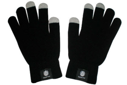 touchscreen handschoenen met label