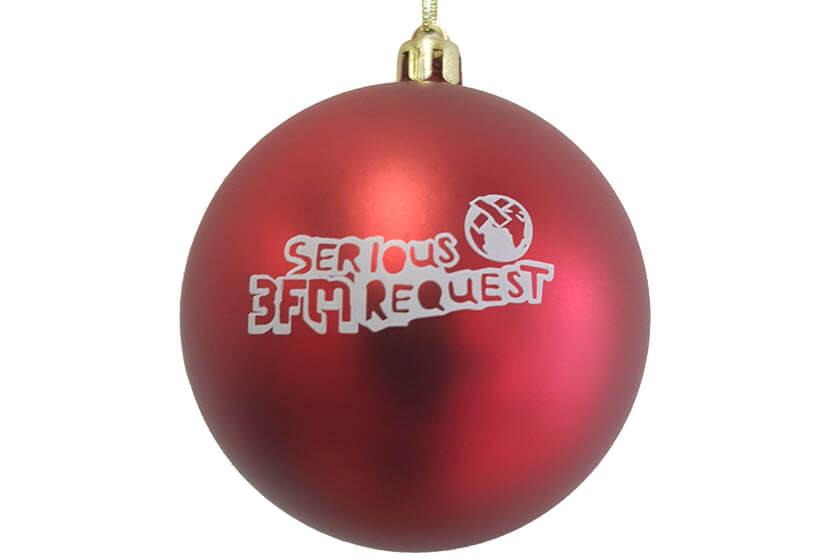 Super Kerstballen bedrukken | Volledig bedrukt | v.a. € 0,55 | JM Promotions NK-48