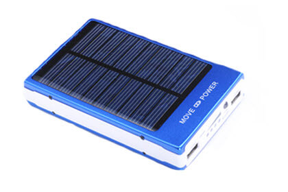 solar powerbanks met logo