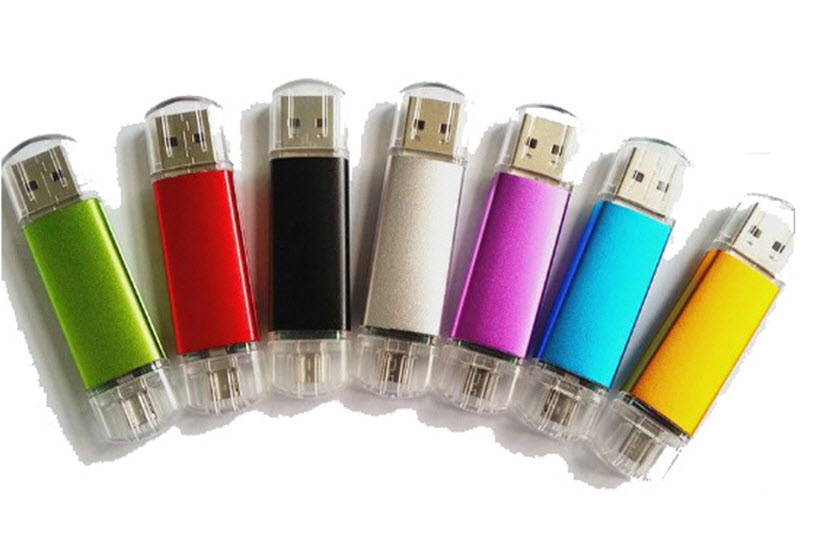 OTG USB-sticks bedrukken