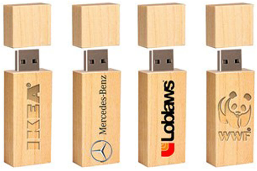 usb sticks met gravering